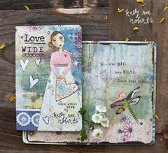 Kelly Rae Roberts Gift Book-Love Wide