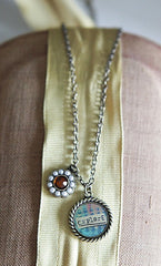 Kelly Rae Roberts Necklace Charm-Explore **