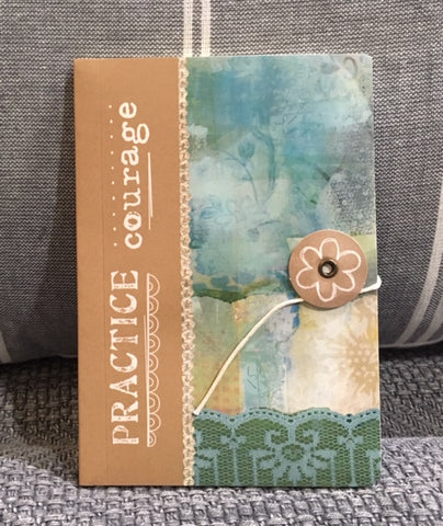 Kelly Rae Roberts Mini Journal - Courage