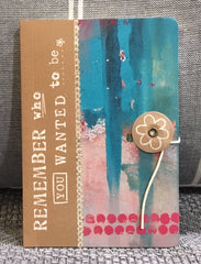 Kelly Rae Roberts Mini Journal - Remember
