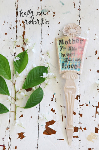 Kelly Rae Roberts Sentiment Plant Pick-Mother **
