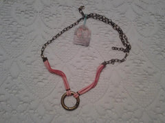 Kelly Rae Roberts Starter Charm Necklace-Pink **