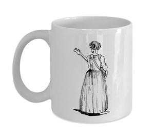 Mug 11oz - Bass Girl