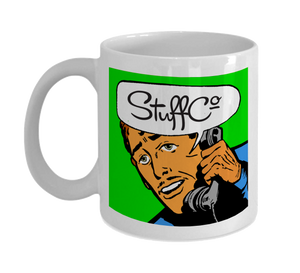 Mug 11oz - Hey man, It's StuffCo!