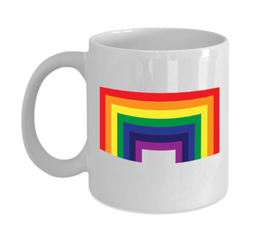 Mug 11oz - Square Rainbow