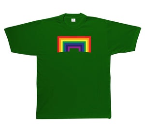 Square Rainbow Short Sleeve T-Shirt
