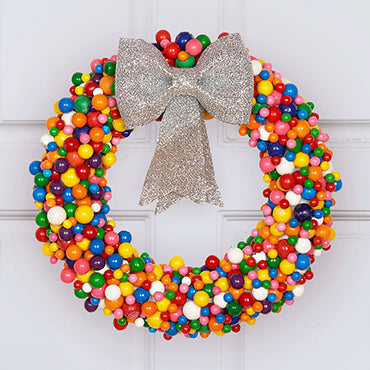 CANDY HOLIDAY WREATH
