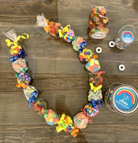 Candy Crafts: Make A Rainbow Candy Lei