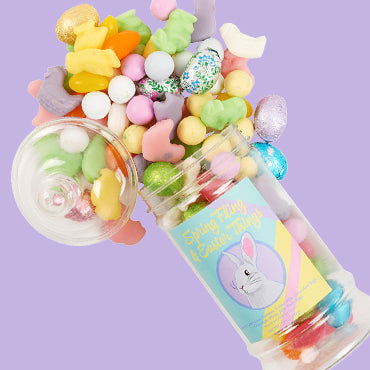SPRING FLING & EASTER THINGS APOTHECARY JAR