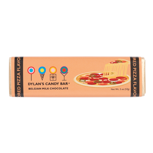 Milk Chocolate Pizza Flavored Bar - Dylan's Candy Bar