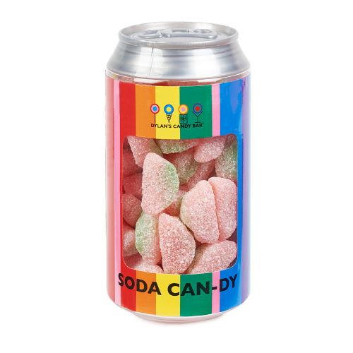 Sour Gummy Watermelon Slices Soda Can - Dylan's Candy Bar