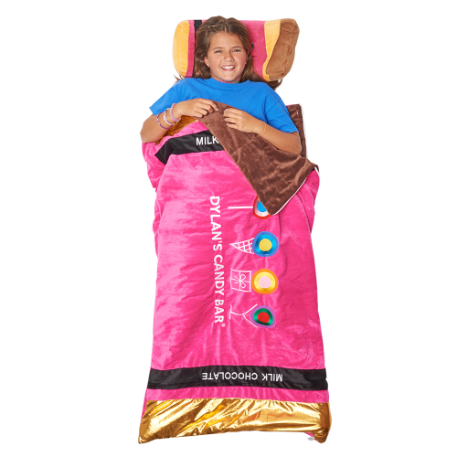 Pink Chocolate Bar Sleeping Bag - Dylan's Candy Bar