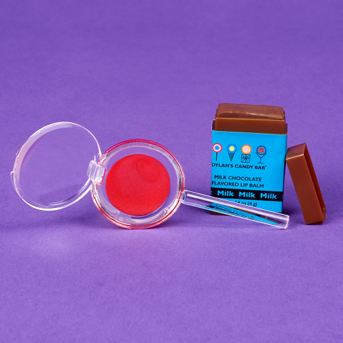 Chocolate Bar & Cherry Whirly Pop Lip Balm Duo - Dylan's Candy Bar