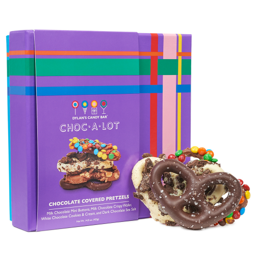 Choc-a-Lot Chocolate Covered Pretzels - Dylan's Candy Bar