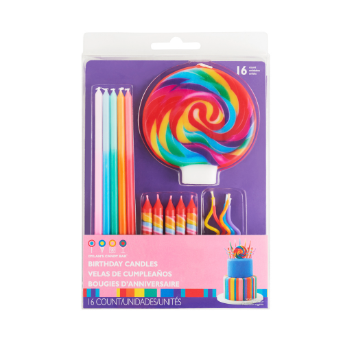 Birthday Candle Set - Dylan's Candy Bar