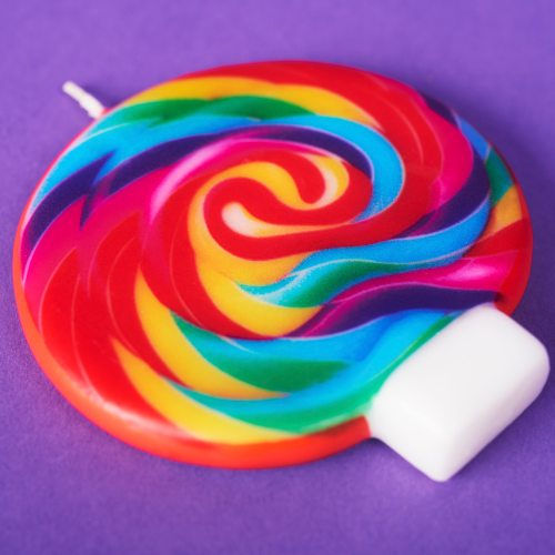 Giant Whirly Pop® Birthday Candle - Dylan's Candy Bar