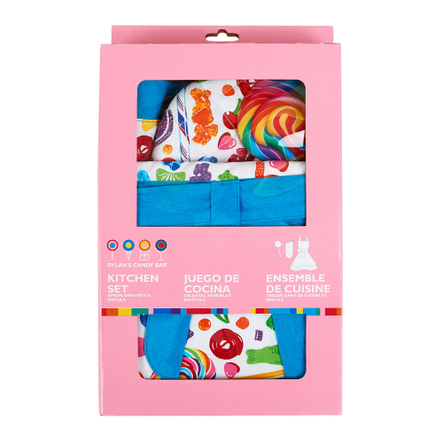Oven Mitt & Spatula Kitchen Set - Dylan's Candy Bar