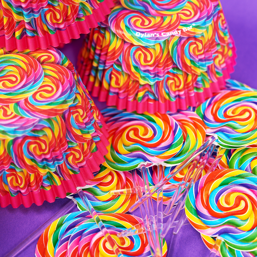 Whirly Cupcake Wrappers & Toppers - Dylan's Candy Bar