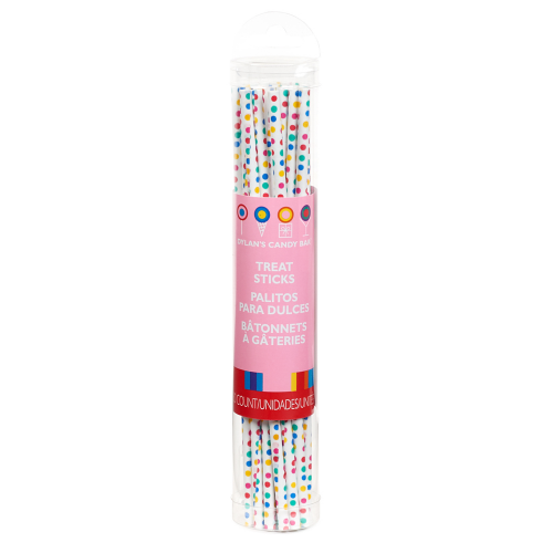 Multicolor Dotted Treat Sticks - Dylan's Candy Bar