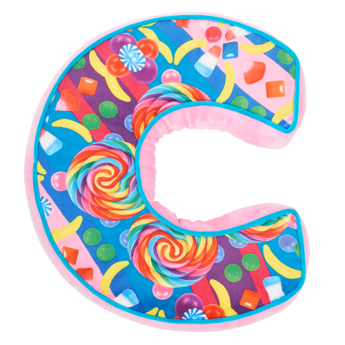 Letter C Alphabet Pillow - Dylan's Candy Bar