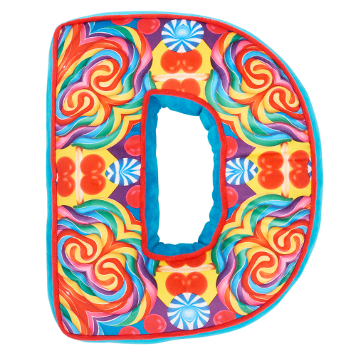 Letter D Alphabet Pillow - Dylan's Candy Bar