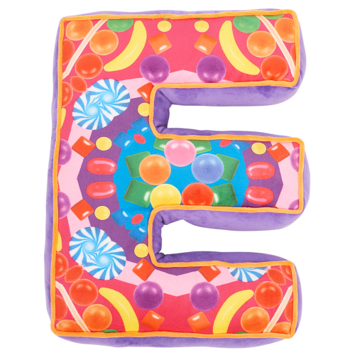 Letter E Alphabet Pillow - Dylan's Candy Bar