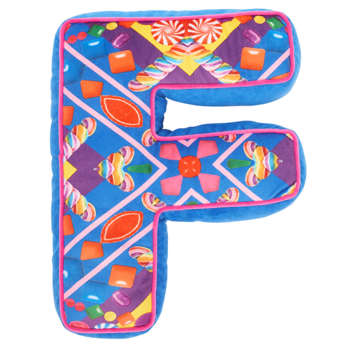 Letter F Alphabet Pillow - Dylan's Candy Bar