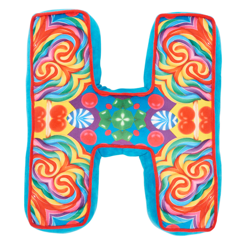 Letter H Alphabet Pillow - Dylan's Candy Bar
