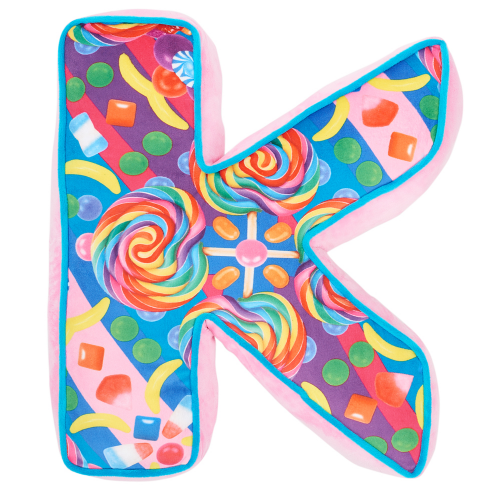Letter K Alphabet Pillow - Dylan's Candy Bar