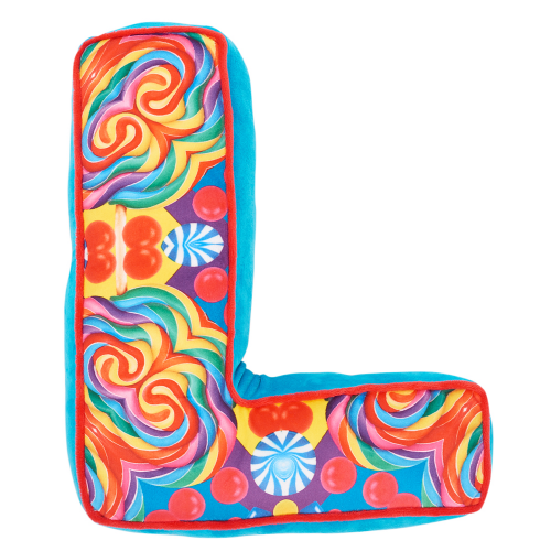 Letter L Alphabet Pillow - Dylan's Candy Bar