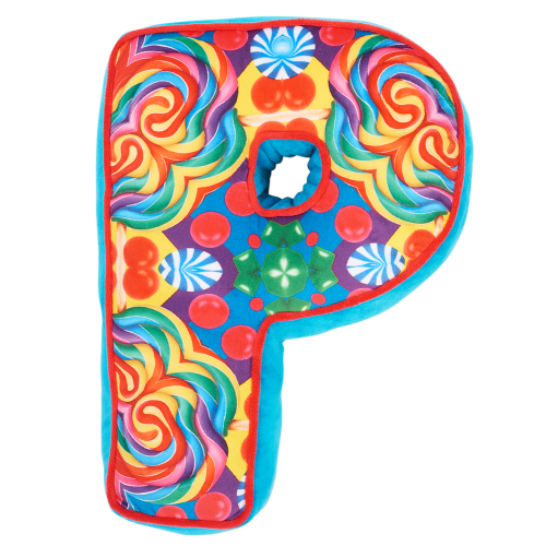 Letter P Alphabet Pillow - Dylan's Candy Bar