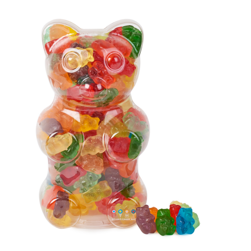 Filled Gummy Bear Container - Dylan's Candy Bar