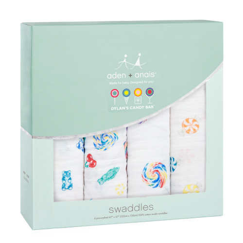 Dylan's Candy Bar x aden + anais swaddle (4 pack) - Dylan's Candy Bar