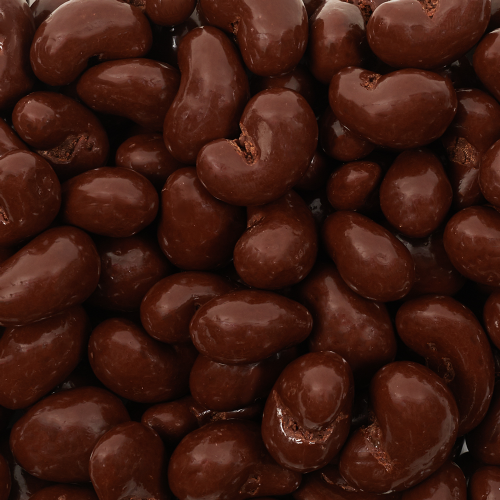 Gold Collection Dark Chocolate Sea Salt Cashews - Dylan's Candy Bar