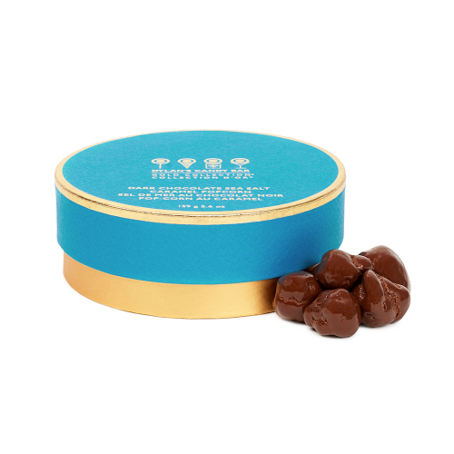 Gold Collection Dark Chocolate Sea Salt Caramel Popcorn - Dylan's Candy Bar