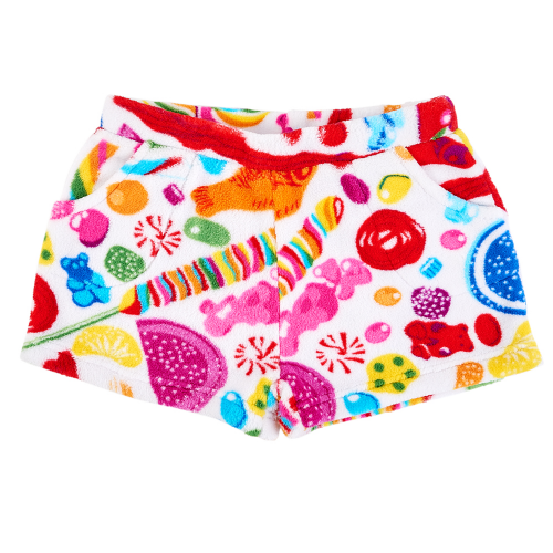 Fuzzy Candy Spill Shorts (Youth) - Dylan's Candy Bar