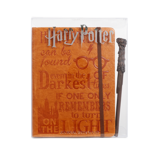 Harry Potter Leather Journal & Wand Pen - Dylan's Candy Bar