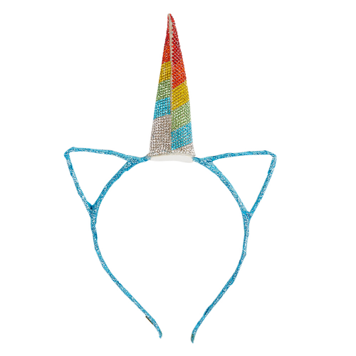 Blue Glitter Unicorn Headband - Dylan's Candy Bar