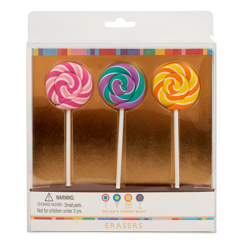 Whirly Pop® Erasers - Dylan's Candy Bar