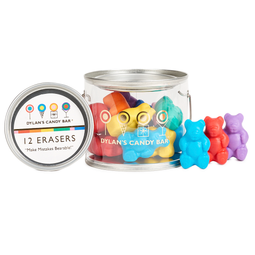 Scented Gummy Bear Erasers Paint Can - Dylan's Candy Bar