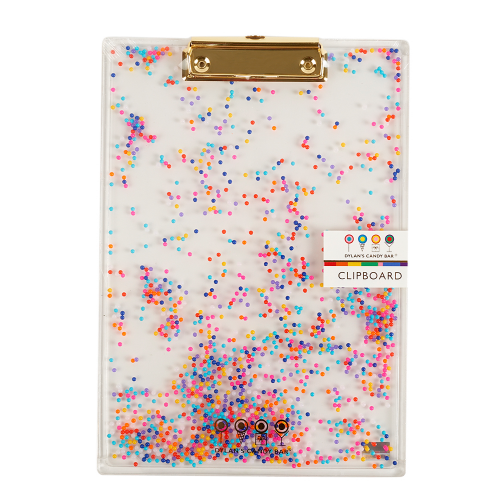 Sprinkles Clipboard - Dylan's Candy Bar