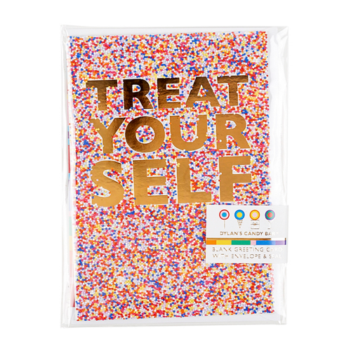 'Treat Yourself' Greeting Card - Dylan's Candy Bar