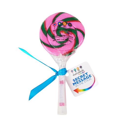 Watermelon Secret Message Lollipop - Dylan's Candy Bar