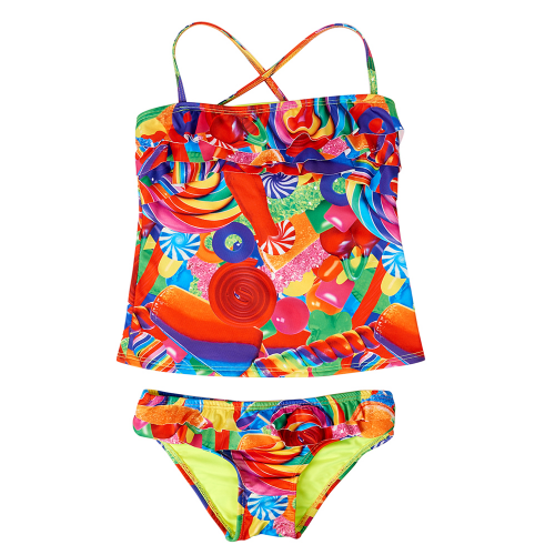 Dylan's Candy Bar Ruffle Tankini - Girls - Dylan's Candy Bar
