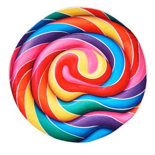 Dylan's Candy Bar Whirly Pop Round Beach Blanket - Dylan's Candy Bar
