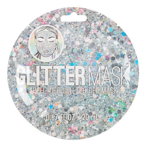 Silver Peel Off Glitter Mask - Dylan's Candy Bar