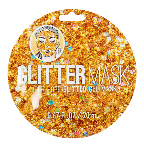 Gold Peel Off Glitter Mask - Dylan's Candy Bar