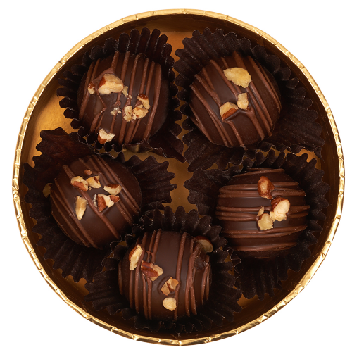 Gold Collection Caramel Pecan Chocolate Truffles - Dylan's Candy Bar