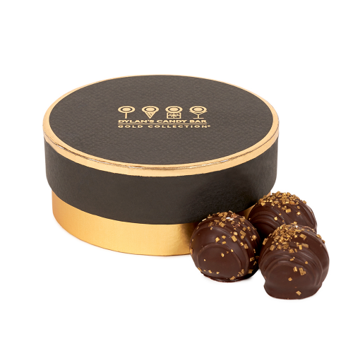 Gold Collection Blood Orange-Flavored Chocolate Truffles - Dylan's Candy Bar