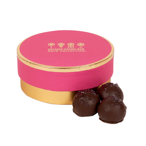 Gold Collection Champagne & Black Currant-Flavored Truffles - Dylan's Candy Bar